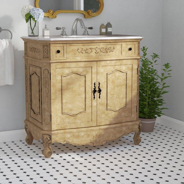 One Allium Way Sturbridge 36 Single Bathroom Vanity Set Reviews Wayfair