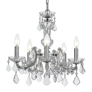 House of Hampton Catchings 5-Light Candle Style Chandelier
