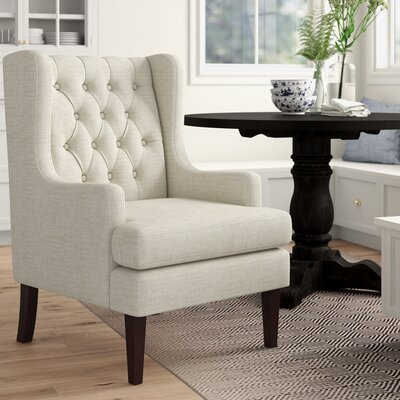 Beige Wingback Accent Chairs You Ll Love In 2020 Wayfair