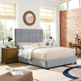 Benedict Upholstered Panel Bed