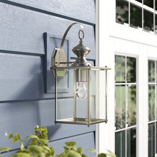Burrows 1-Light Outdoor Wall Lantern by Darby Home Co Wonderful