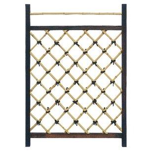 Oriental Furniture Japanese Wood Lattice Panel Trellis