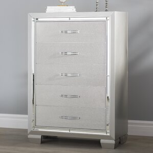 Rocky 5 Drawer Chest by Harriet Bee