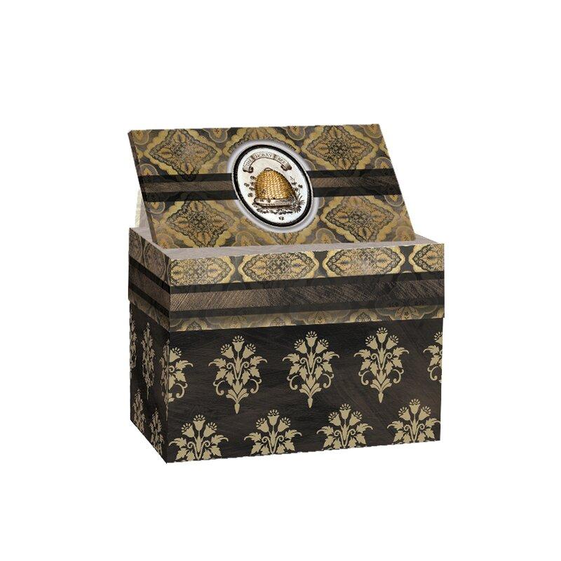 Gracie Oaks Recipe Card Decorative Box Wayfair Inspiration Decorative Card Boxes