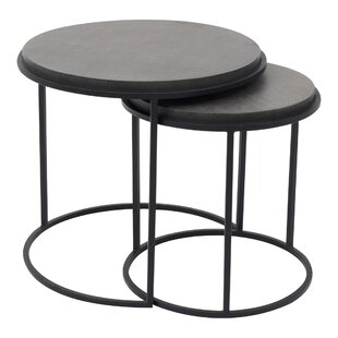 Finley 2 Piece Nesting Tables by 17 Stories