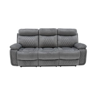 Amani 3 Seater Recliner With Tray By Mercury Row