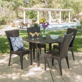 Dillinger 5 Piece Dining Set by Ivy Bronx