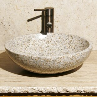 Best Reviews Stone Circular Vessel Bathroom Sink By Allstone Group