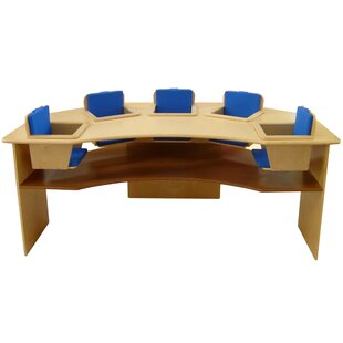 Kids 5 Seat Picnic Table By A+ Child Supply
