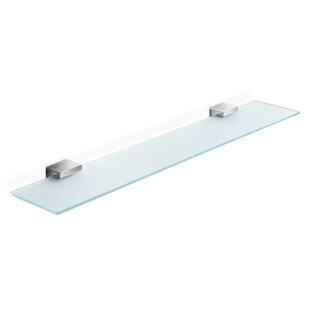 WS Bath Collections Lea Glass Wall Shelf