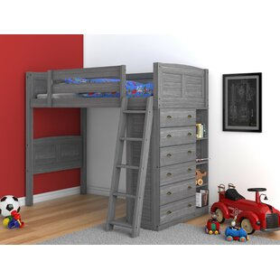 Basnight Twin Loft Bed by