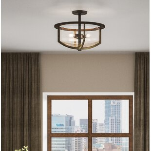Jubilee 3-Light Semi Flush Mount by Gracie Oaks