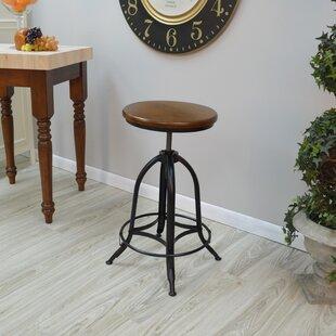 Nevada Adjustable Height Swivel Bar Stool by Trent Austin Design