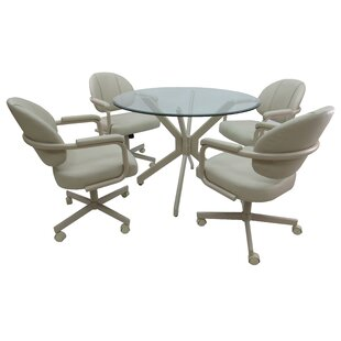 Maris 5 Piece Dining Set Latitude Run