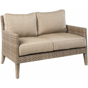 Nishant Loveseat with Cushions by Gracie Oaks