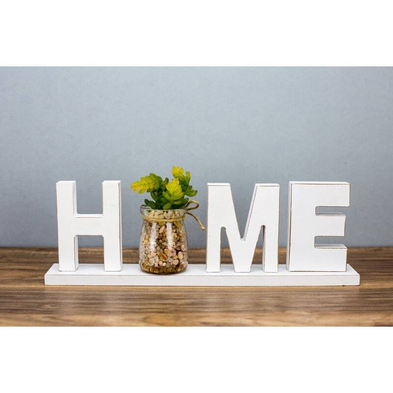 Rossford Home Tabletop Letter Block