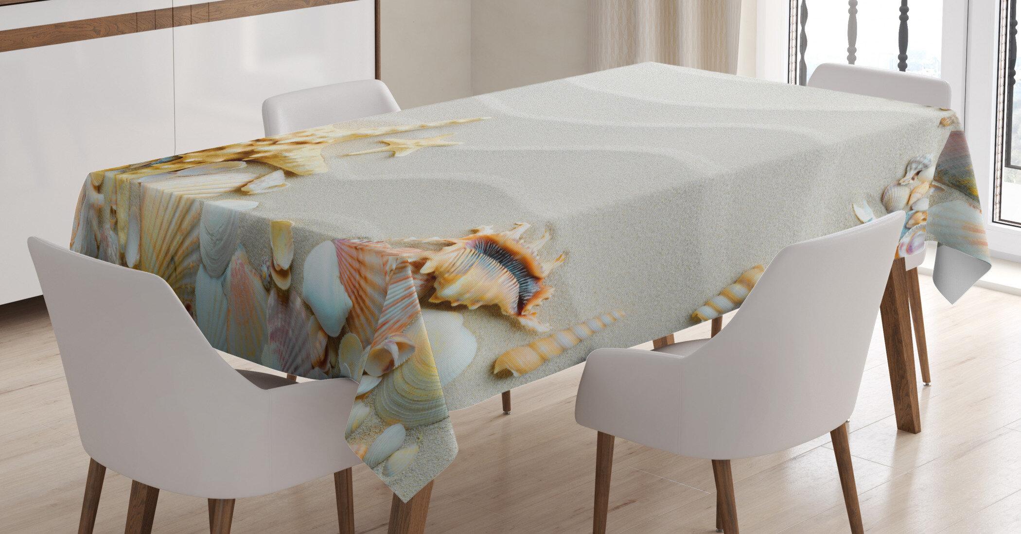 East Urban Home Starfish Tablecloth Wayfair