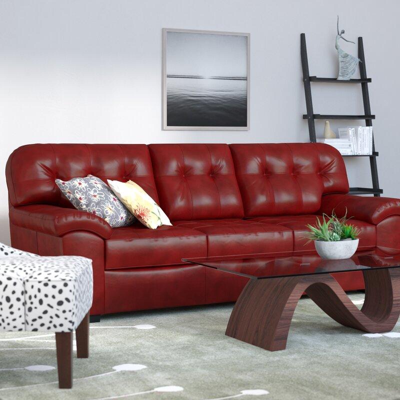 Latitude Run Simmons Upholstery David Queen Sleeper Sofa & Reviews