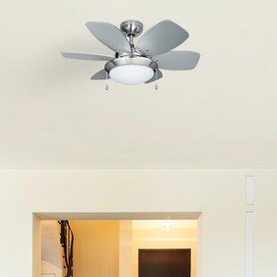 Small ceiling fans wayfair spitfire 6 blade ceiling fan aloadofball Gallery