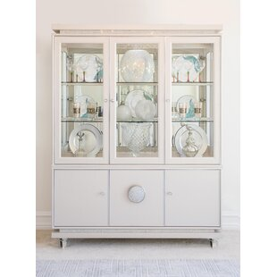 Glimmering Heights Standard China Cabinet by Michael Amini