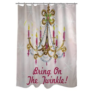 Bring On The Twinkle Shower Curtain by One Bella Casa