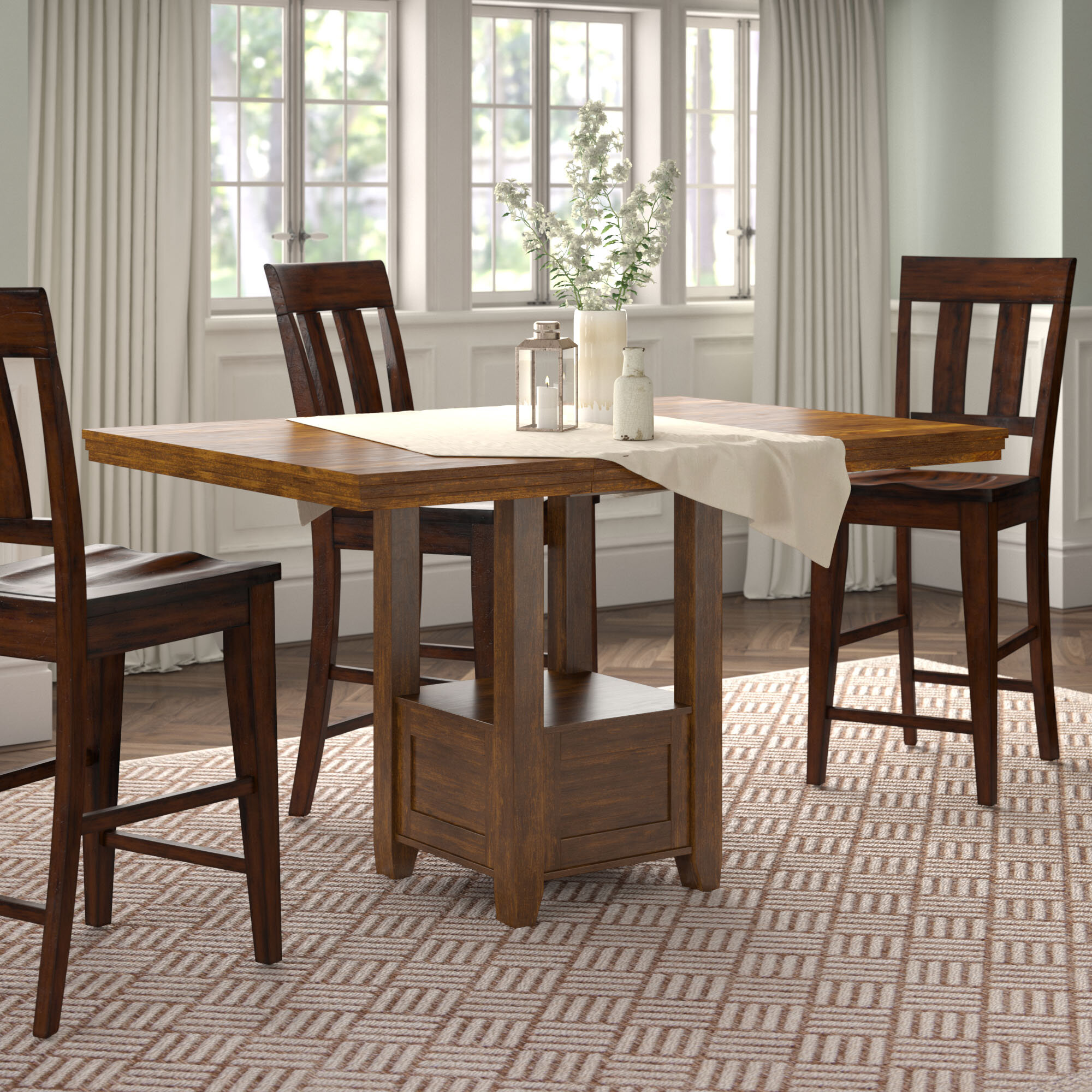 Picture of: Rustic Farmhouse Small Kitchen Dining Tables You Ll Love In 2020 Wayfair