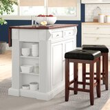 Haslingden Kitchen Island by Three Posts