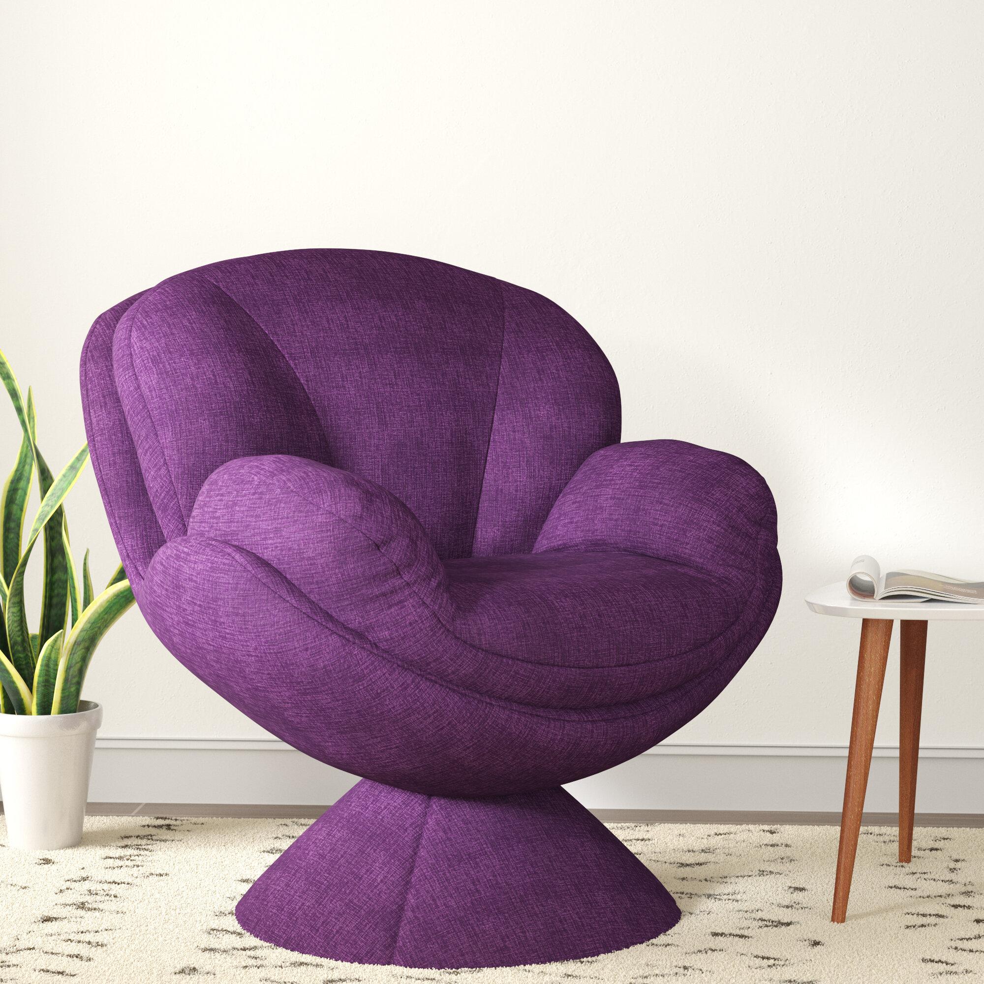 Trule Teen Boykin Swivel Lounge Chair U0026 Reviews | Wayfair