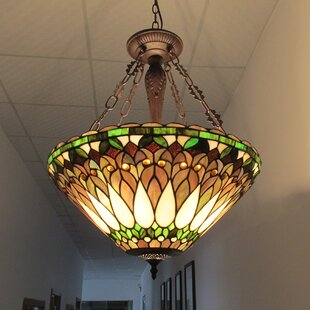Astoria Grand Olympia 3-Light Bowl Pendant