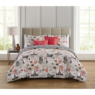 Uxbridge 5 Piece Reversible Comforter Set
