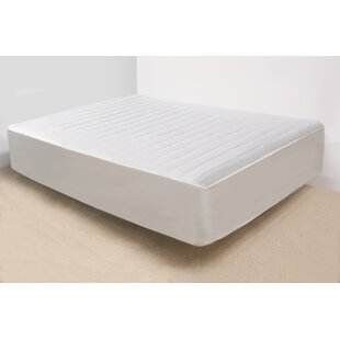 Striped Polyester Mattress Pad