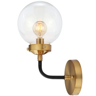 Claudio 1-Light Armed Sconce by George Oliver