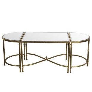Gofried 3 Piece Coffee Table Set