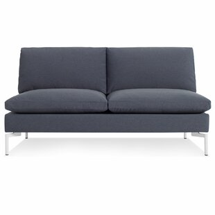 The New Standard Armless Loveseat by Blu Dot Best Design