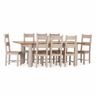 Rochefort Extendable Dining Set With 8 Chairs By August Grove