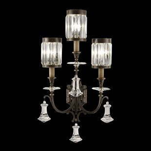 Eaton Place 3-Light Armed Sconce By Fine Art Lamps
