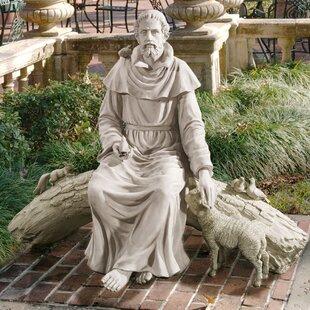 Design Toscano In Nature's Sanctuary St. Francis Garden Statue
