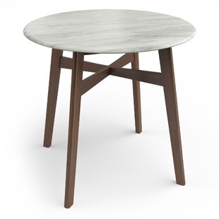 Lanford Faux Marble Dining Table Turn on the Brights