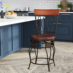 Abbey Glen 24 Swivel Bar Stool DarHome Co