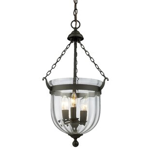 Alcott Hill Hegg 3-Light Urn Pendant