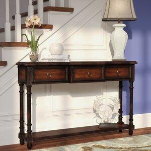 La Grange Regency 3 Drawer Console Table