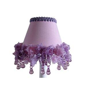 Lilac Dew Drops 11 Fabric Empire Lamp Shade