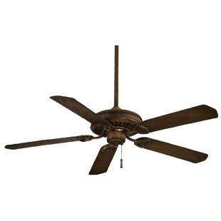 Comparison 54 Sundowner 5-Blade Indoor / Outdoor Ceiling Fan By Minka Aire