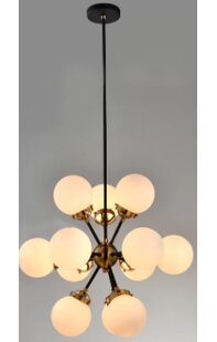 Santa Monica 12-Lights Sputnik Chandelier by Brayden Studio