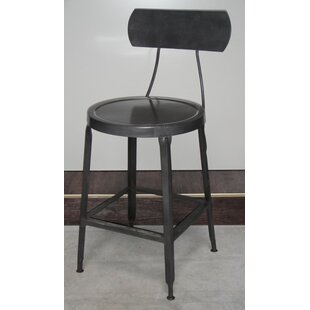 Emeline Brown Bar Stool By Williston Forge