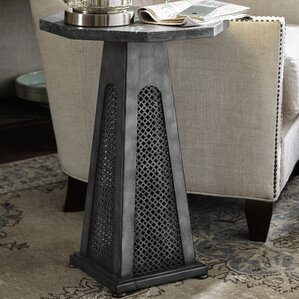 Mikah Chairside Table by One Allium Way