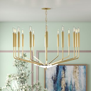 Willa Arlo Interiors Delrick 14-Light Chandelier