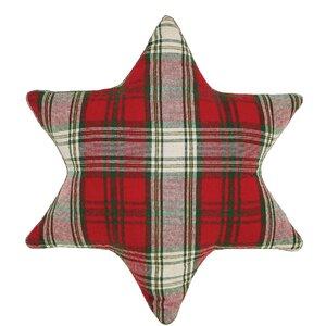 HO HO Holiday Snowflake Pillow