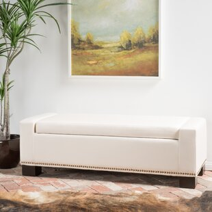 Latitude Run Crystal Upholstered Storage ..