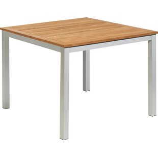 Caspian Solid Wood Dining Table by Sol 72..